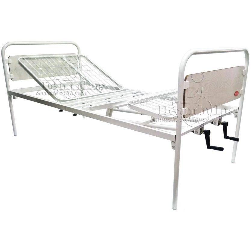 letto ortopedico per degenza a 2 manovelle moretti - foto-4987