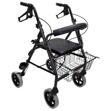 deambulatore girello in alluminio anziani e disabili moretti - foto-5959