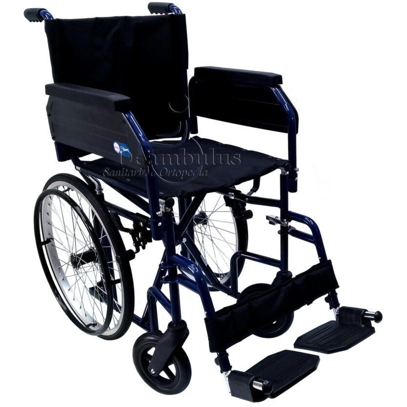 sedia a rotelle spazi stretti 54 cm moretti - foto-5030