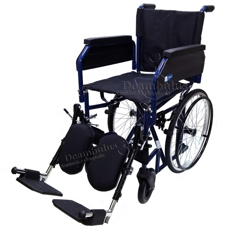 sedia rotelle pieghevole quanti chili porta