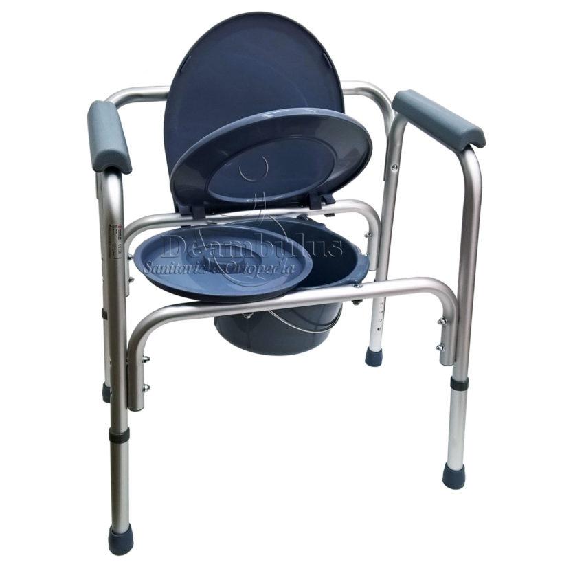 Sedia WC Comoda per anziani disabili 4 in 1 Moretti ...