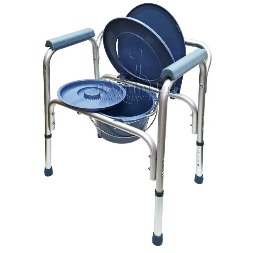 Sedia WC Comoda per anziani 4 in 1 Moretti - Deambulus