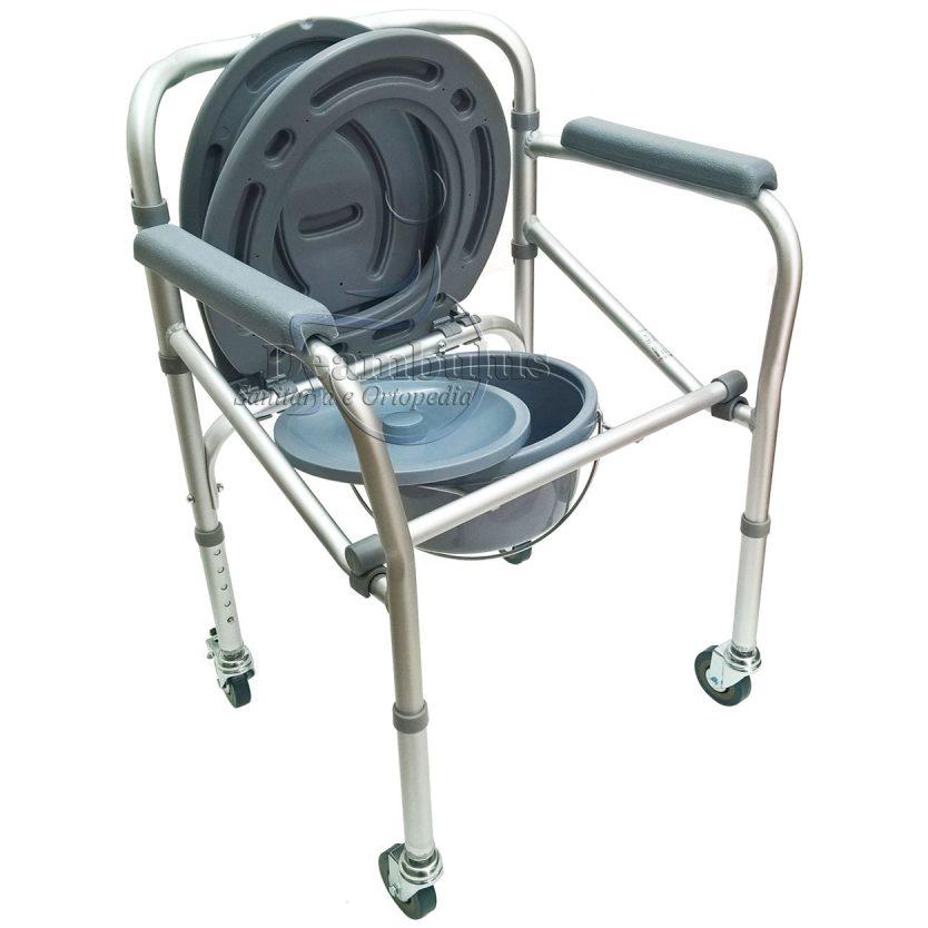 sedia wc comoda per anziani pieghevole moretti - foto-5860
