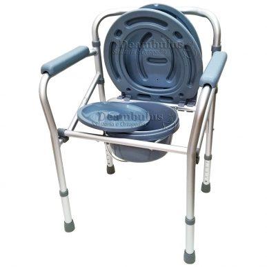 sedia wc comoda per anziani pieghevole puntali moretti - foto-1379