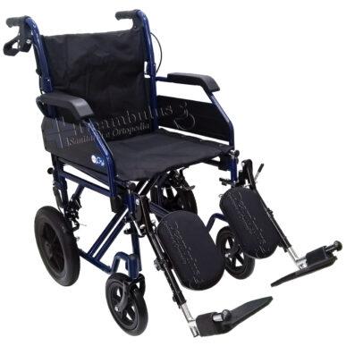 sedia a rotelle transito con alzagambe seduta 46 moretti - foto-1480
