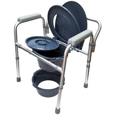 sedia wc comoda anziani rialzo water demarta - foto-8016