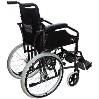 sedia a rotelle pieghevole stretta 53 seduta 43 demarta - foto-8113