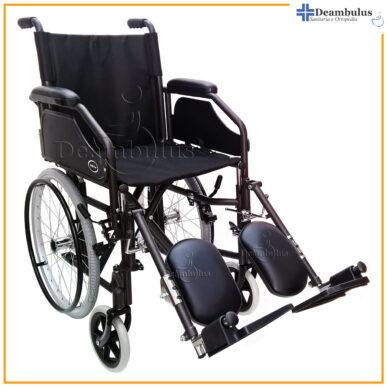 sedia a rotelle stretta 53 seduta 43 pedane elevabili demarta - foto-8210