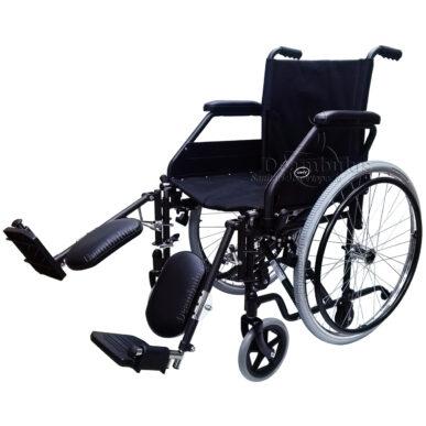 sedia a rotelle disabili con alzagambe seduta 46 demarta - foto-8266