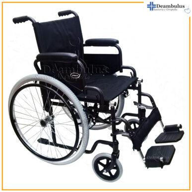 sedia a rotelle pieghevole per disabili demarta - foto-8278