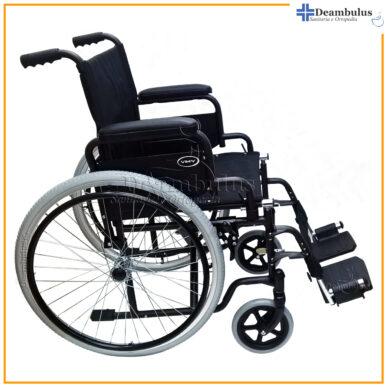 sedia a rotelle pieghevole per disabili seduta 48 demarta - foto-8400