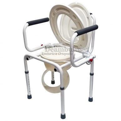 sedia wc comoda per anziani rialzo con braccioli ribaltabili - foto-1800