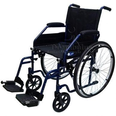 sedia a rotelle pieghevole per anziani disabili seduta 40 - foto-2004